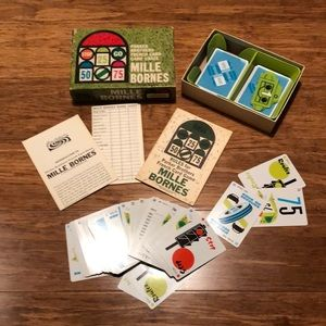 Mille Bornes Parker Brothers 1962 French Card game